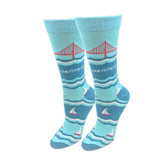 Ladies Golden Gate Bridge Socks