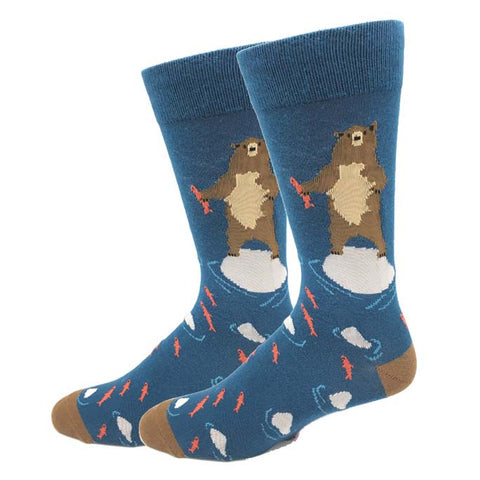 Bigfoot in Space Socks