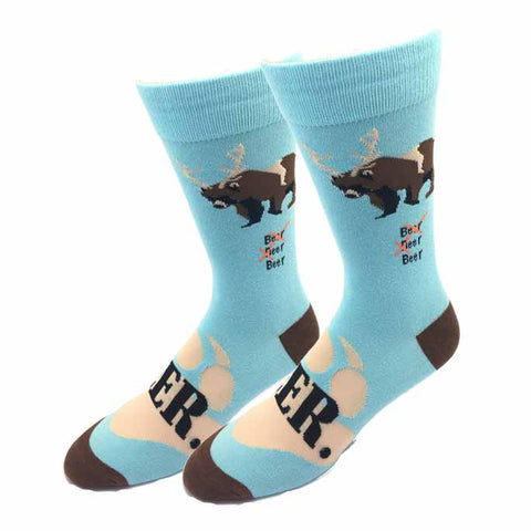 Polar Bear Party Socks