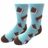 Ice Cream Sandwich Kids Socks