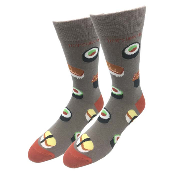 Sushi Roll Socks