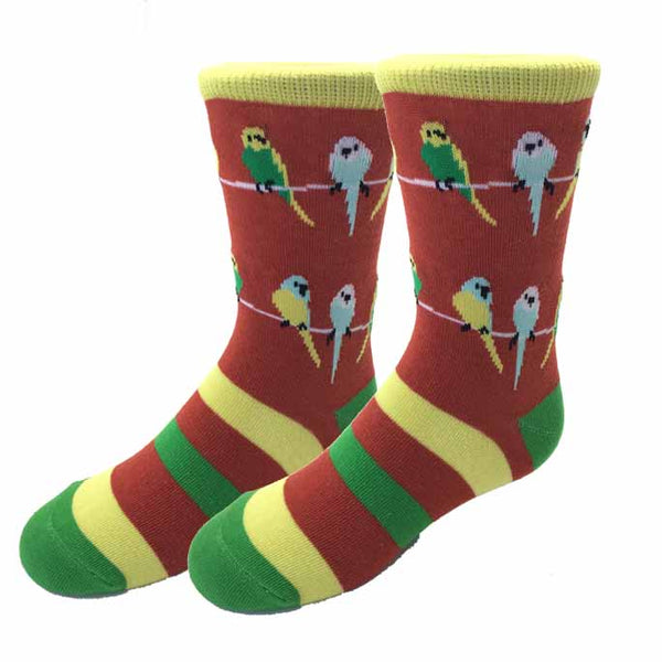 Parakeet Kids Socks