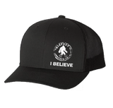 I BELIEVE Bigfoot Snap Back Hat