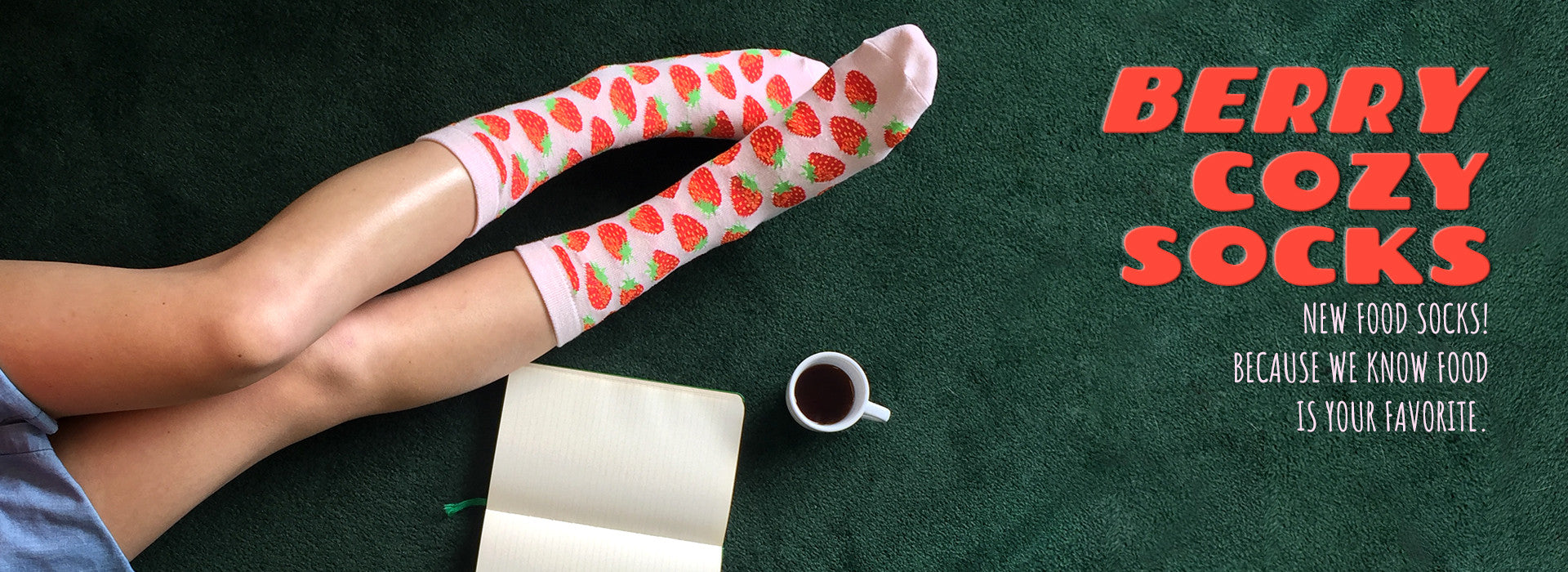 Food Berry Socks
