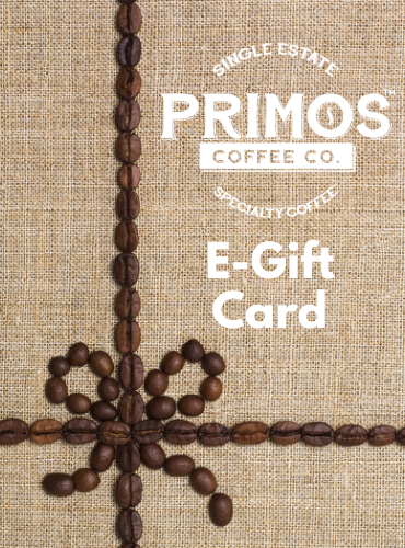 Primos Coffee Co E-Gift Card