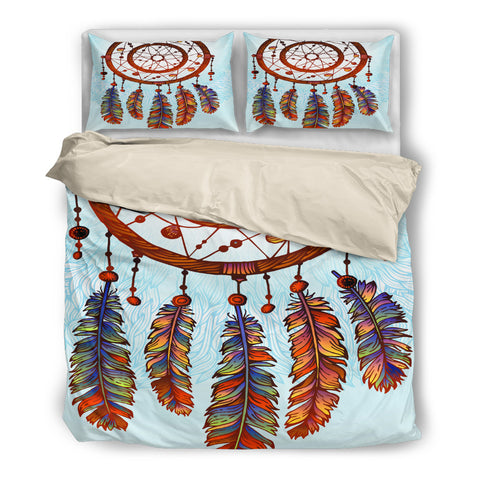 Big Dream Catcher Bedding Set - Beige