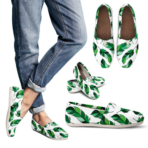 Green Leaf Shoes