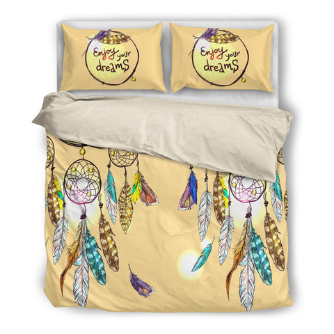 Dream Catcher Bedding Set - Beige