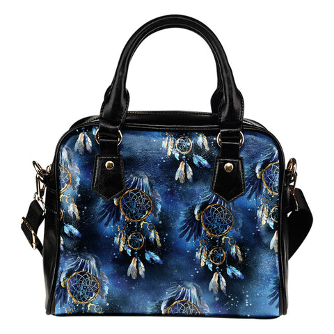 Galaxy Dream Catcher Shoulder Handbag