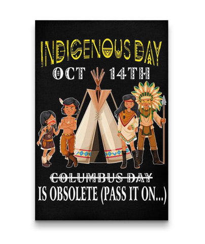 Indigenous Day - Canvas