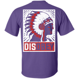 Native Chief Disobey - Back Print