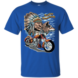 Native American Indian with Motorcycle