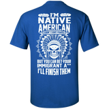 Native Inspired Immigrants - Back print