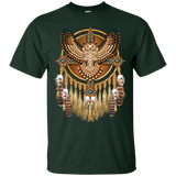 Native American Great Horned Owl Mandala