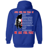 We Are Still Here Hoodies - Back Print
