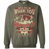 Native American Were Born To Stand Out Sweater