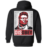 Disobey American Indian Hoodies - Back Print