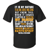 Native Inspired Nature Family - Back Print