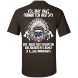 Native Inspired Forgotten History - Back Print