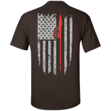 Native Inspired Spear Flag - Back Print