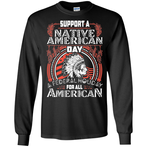 Support A Native American Day