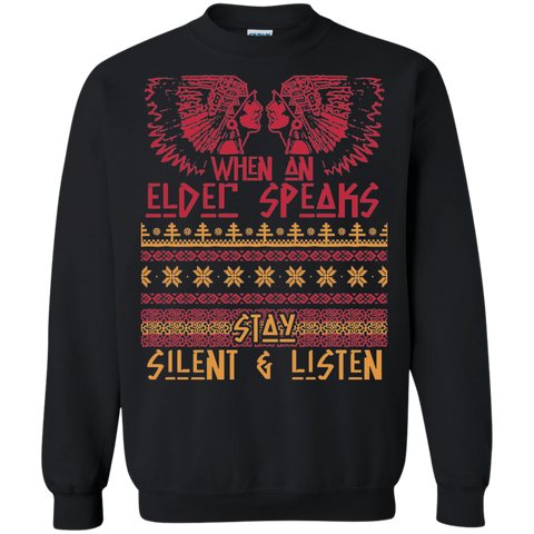 When An Elder Speaks Sweater