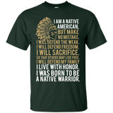 Native Inspired Born To Be Warrior