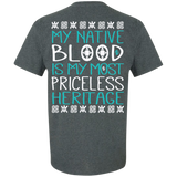 Teal Nature Is Most Priceless Heritage - Back Print