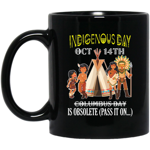 Native Inspired Indigenous Day Mug