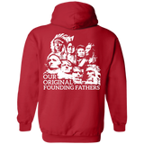Original Founding Fathers Hoodies - Back Print