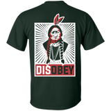 Native American Disobey - Back Print
