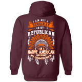Native American Want Country Back - Back Print