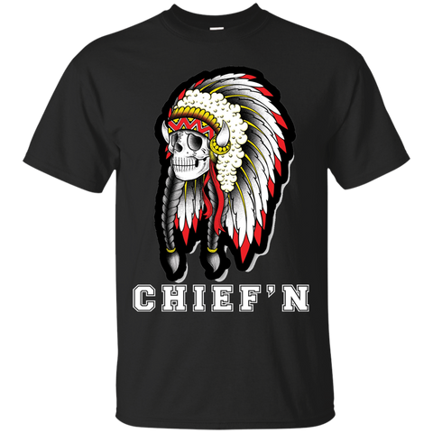 Native Skull Chiefin