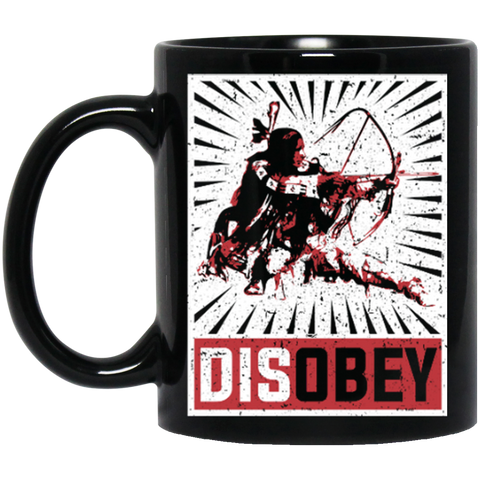 Disobey Archery Warrior Mug
