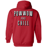 Powwow And Chill Hoodies - Back Print