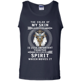 The Color Of Native American Skin - Tank Top