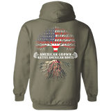 Native Inspired Roots Hoodies - Back Print