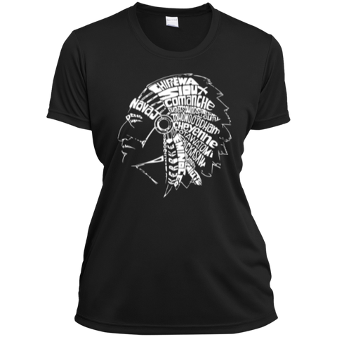 Ladies Native Headdress Shirt