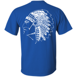 Native Headdress Shirt - Back Print