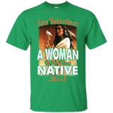 Native Woman Blood
