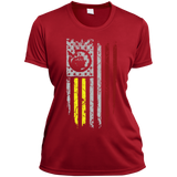 Ladies Native Inspired USA Lakota Flag