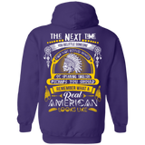 Remember What A Real American Hoodies - Back Print