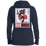 Ladies Native Disobey Girl Hoodies - Back Print