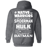 Native Warriors Hoodies - Back Print