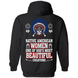Native American Women Most Beautiful - Back Print