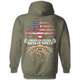 Native Inspired Navajo Roots Hoodies - Back Print