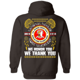 National Navajo Code Talkers Day 2018 Hoodies - Back Print