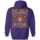 Native American Heritage Hoodies - Back Print