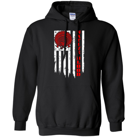 Native Blood Hoodies - Front Print