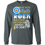 Native American Rise With Standing Rock